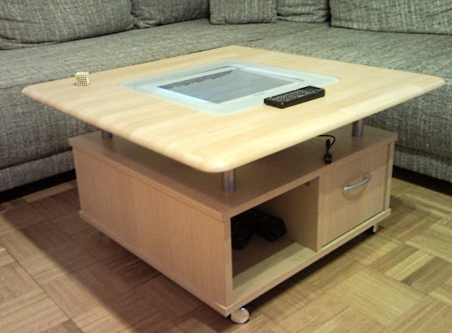 thema anzeigen casemod table pc mit pokini mini pc. Black Bedroom Furniture Sets. Home Design Ideas
