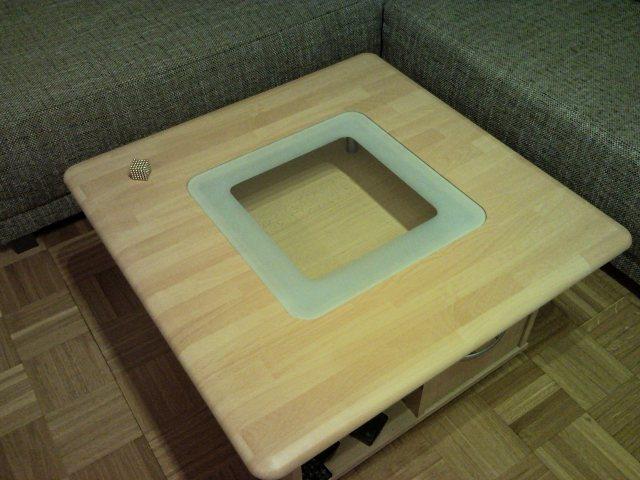 tisch mit integriertem tablet